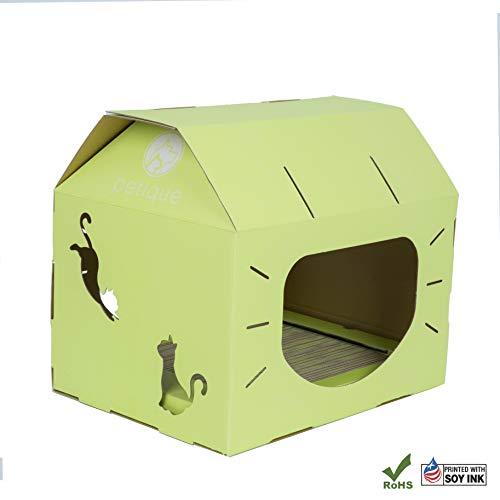 PETIQUE ch01400203Feline loft-Wasabi Katze Häuser, Wasabi, One Size -