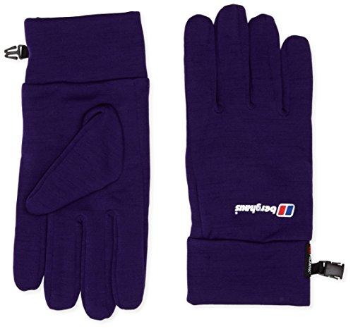 Berghaus Damen Powerstretch Handschuh XX-Large Parachute Purple Marl