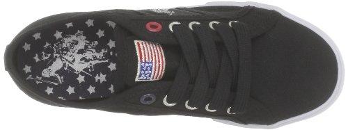US Polo Assn Bange2, Baskets mode mixte enfant Noir (Blk)