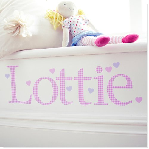 personalised-name-wall-letter-stickers-pink-gingham-b-10-16-cm-high-each-letter-comes-with-one-lilac