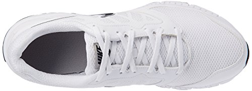 Nike Downshifter 6 Msl Scarpe da Corsa, Uomo Bianco / Nero / Argento