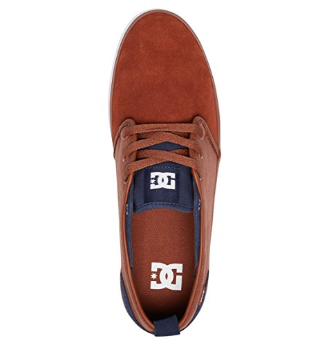 DC Shoes Studio - Chaussures pour Homme ADYS300406 Bleu - Navy White