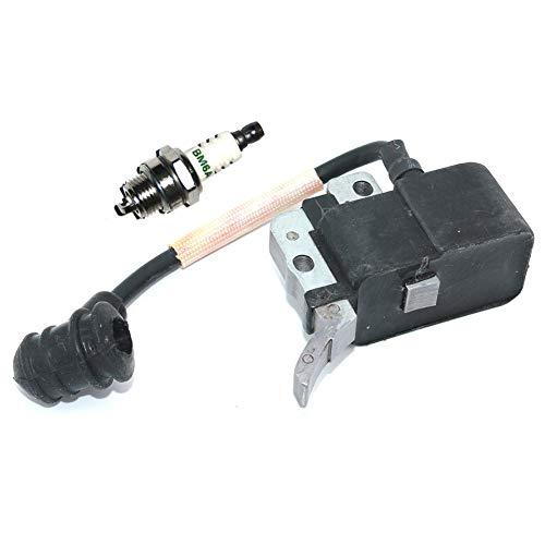 Bobina di accensione modulo con Spark Plug BM6A per Motosega Echo CS320CS350CS350T CS350TES CS351CS355T CS3000CS3400CS3450CS3600Motore Parti di Ricambio # A411000150