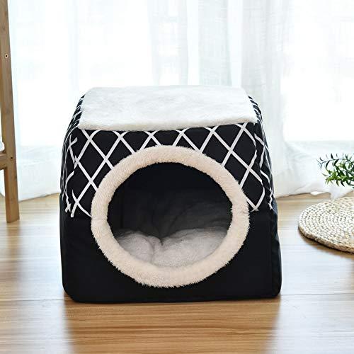 QDZSQFF Casetta per Animali E Divano Comoda Casa Lavabile per Cani Casetta per Gatti Chiusa per Gatti Camera per Animali Domestici Canile XL