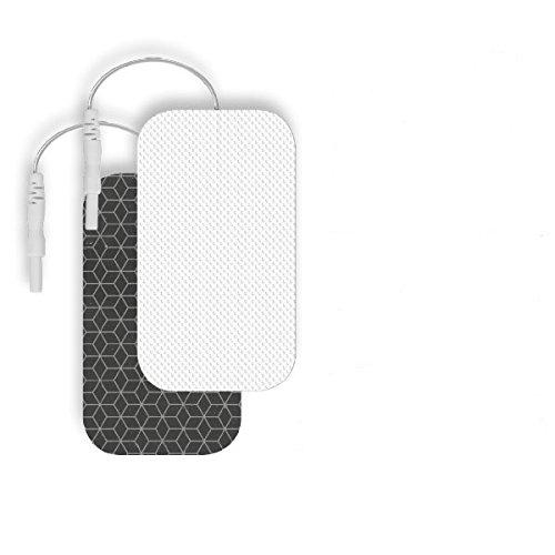 Sport-Elec WXELEC1 - Lote de 4 electrodos Adhesivos rectangulares