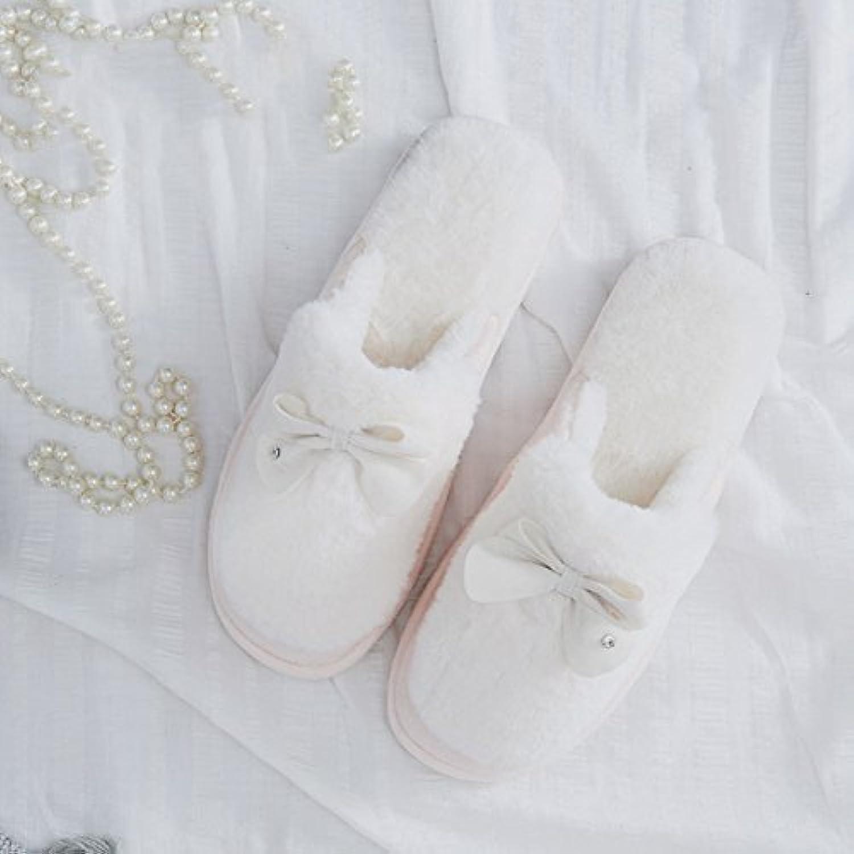 Gemütlich Damen Hausschuhe Winter Hausschuhe Hausschuhe Warmes Paket mit der Kinderpflege Schuhe (5 Farben optionalö