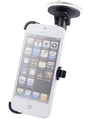 Excellent Value de pare-brise de voiture Holder Stand pour iPhone 5 / 5S Noir