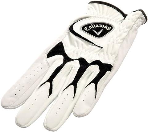 Callaway Tour-Handschuh Golf 2012 Tech Series, Linke Hand, Weiß weiß 29 cm