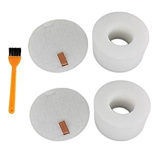 Aisen 2 Pack Foam Felt Filter Kit for Shark Rotator NV680 NV680UK NV681 NV682 NV683 XFF680 Powered Lift-Away Speed Vacuum Cleaner
