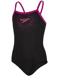 Speedo Girls Swimwear Gala Logo Thinstrap Muscleback