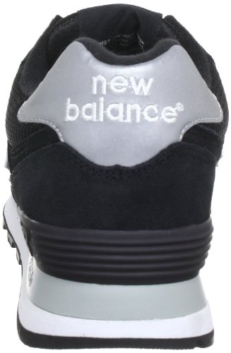 New Balance M574 D 13H, Baskets mode homme Noir (Black/001)
