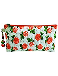 Nicedesign Designer Multi Color Floral Printed Women's Pouch Purse
