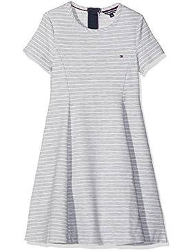 Tommy Hilfiger Mädchen Kleid Ottoman Stripe Skater Dress S/S