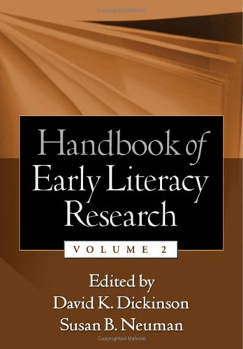 Handbook of Early Literacy Research, Volume 2: v. 2