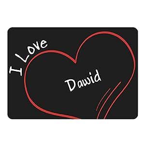 Tapis de souris modern love dawid noir