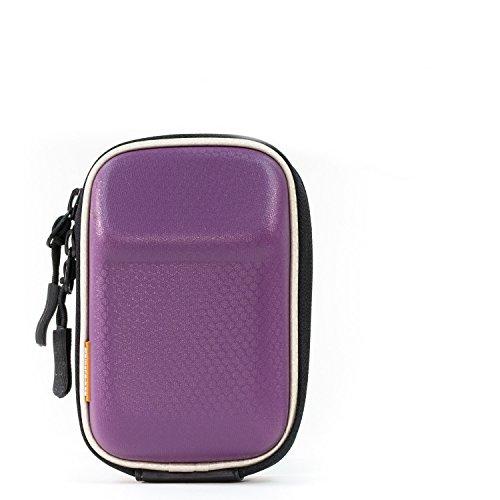 MegaGear MG197 Sony Cyber-shot DSC-RX100 VI, DSC-RX100 V, DSC-RX100 IV, DSC-RX100 III, DSC-RX100 II Hard Golf Camera Case - Purple Cyber-shot Soft Case