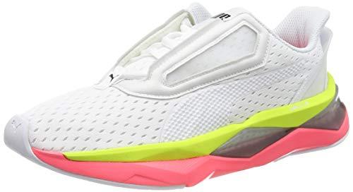 PUMJV|#Puma Lqdcell Shatter Xt Wn's, Scarpe Sportive Indoor Donna, Puma White/Pink Alert 01, 7.5 EU