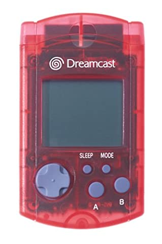 Visual memory unit Red - Dreamcast