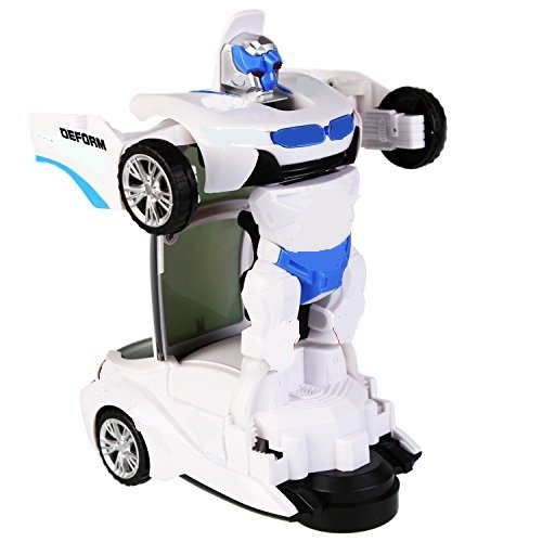 Super Toy Robot to Train Converting Transformer Toy for Kids - Multi Colour