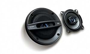 Sony XSF1027SE Haut-parleur 2 voies 10 cm 130/30 W 90 dB Argent (Import Allemagne)