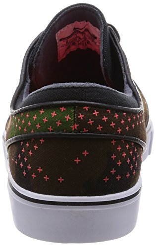 Nike Zoom Stefan Janoski L, Chaussures de Skate Homme, Varios iguana/white-bright crimson-blk