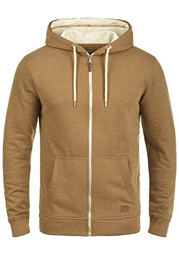 BLEND Hulker 20704468ME Zip-Hood, Größe:XL;Farbe:Dark Mustard (75116)