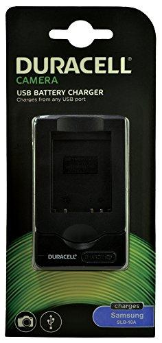 Duracell Ladegerät mit USB Kabel für DR9688/Samsung SLB-10A Akku -