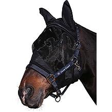 empasa Máscara Máscara Mosquitera para caballos con protección UV Fly Mask with Polar and UV Protection, talla S