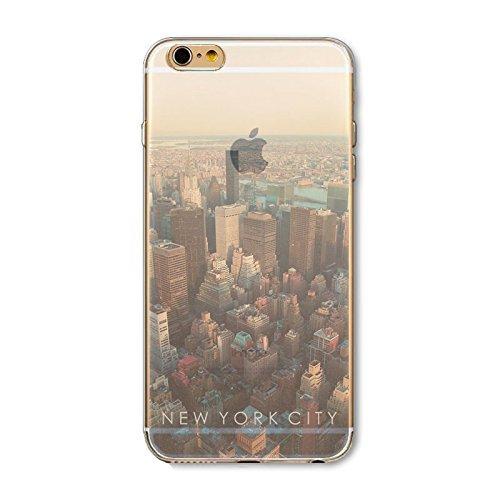 Coque iPhone 5 5s SE Housse étui-Case Transparent Liquid Crystal en TPU Silicone Clair,Protection Ultra Mince Premium,Coque Prime pour iPhone 5 5s-Paysage-style 4 10