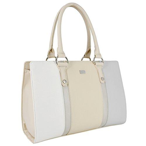 266fc3f309600 ... David Jones - Damen Handtasche Henkeltasche Schultertasche - Elegant  Frauen Große Tasche mit Lange Griffe Henkel ...