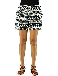 virblatt pantalones cortes para mujer estilo boho chic de virblatt con patrones étnicos pantalones hippie mujer y pantalones hippies como ropa boho de virblatt - Morgenklang