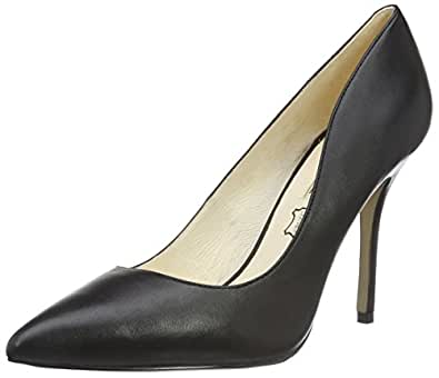 Buffalo London 112-1211 SILK LEATHER, Damen Pumps, Schwarz (BLACK 01), 36 EU