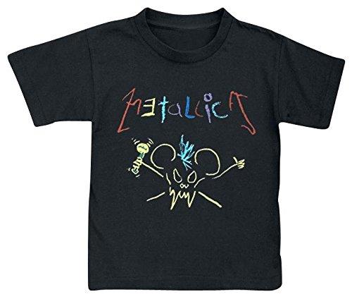 Metallica Crayon Maglia bimbo/a nero 92/98