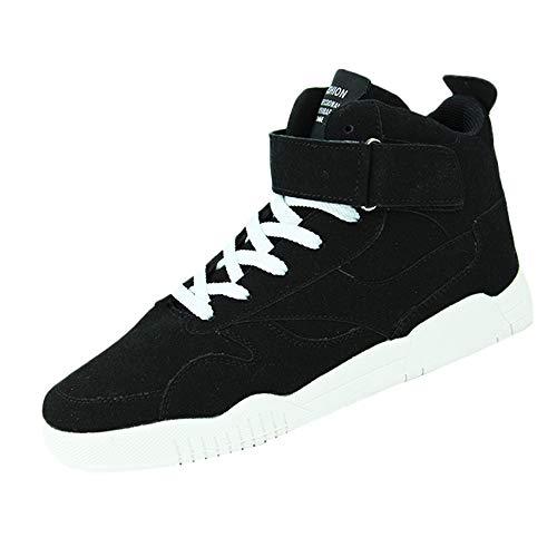 Ginli scarpe da ginnastica uomo sneaker alte donna sport antiscivolo scarpe da corsa respirabile scarpe da basket casual