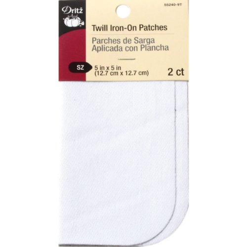 Dritz Iron-On Twill Patches 5