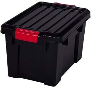 boite de rangement systeme de rangement noir boite de rangement boite de rangement plastique. Black Bedroom Furniture Sets. Home Design Ideas