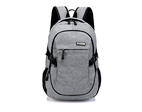 Best supreme backpack in India 2020 Elegance Canvas Material School Backpack & Laptop Backpack with USB Charging Port Image 8