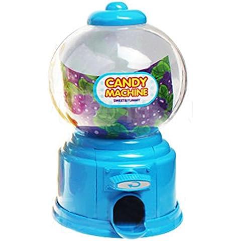Mini caramelle carina Gumball Jelly Beans zucchero distributore automatico Snack Dispenser Novità Natale vacanze compleanno (Giocattolo Candy Machine)