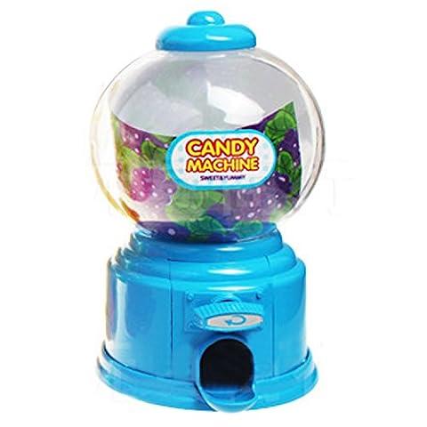 Mini süße Candy Gumball Jelly Beans Zucker Automaten Snack Dispenser Neuheit Weihnachten Urlaub Geburtstag Geschenk (Giocattolo Candy Machine)
