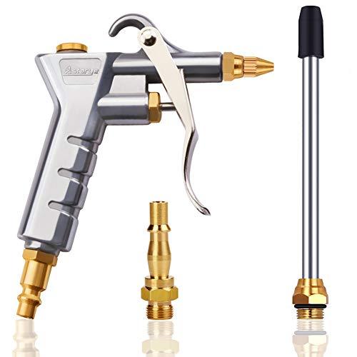 Astarye Druckluftpistole Luftblaspistole Ausblaspistolen Luftkompressor Staubtuch für 1/4