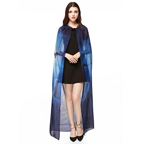 HKFV -  Camicia da notte  - Donna Blue