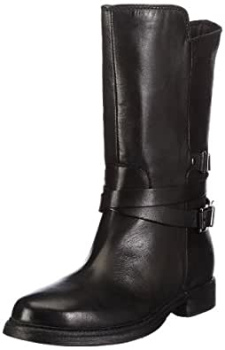 Clarks Moody Film 20356989, Damen Biker Boots, Schwarz (Black Leather), EU 41