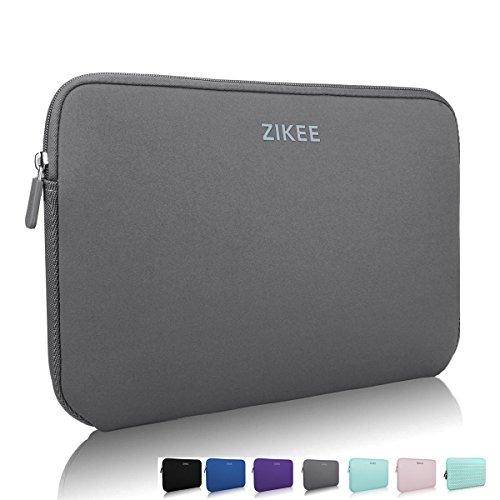 zikee-sleeve-per-laptop-116-pollici-grigio-custodia-di-neoprene-borsa-per-portatile-caso-protettiva-