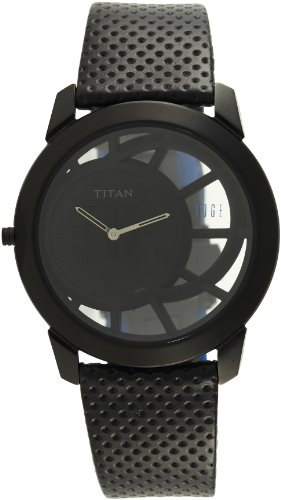 41D2aBzk4CL - Titan ND1576NL01A Edge Mens watch