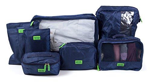 Hauptstadtkoffer - Organizador para maletas , azul oscuro (azul) - HK-