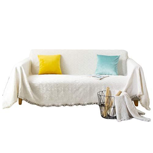 Runyue Sofa Überwürfe Sofabezug Sofaüberwurf Sofahusse Sofa Abdeckung In Verschiedene Größe Und Farbe Stil 1 180 * 260CM