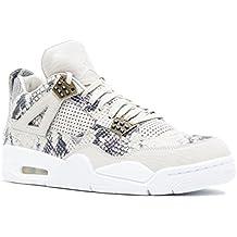 sports shoes 659ce 01a36 Nike Air Jordan 4 Retro Premium, Chaussures de Basketball Homme