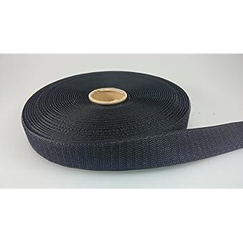 klettband selbstklebend 5 Meter  2 cm breit schwarz Flausch und Haken