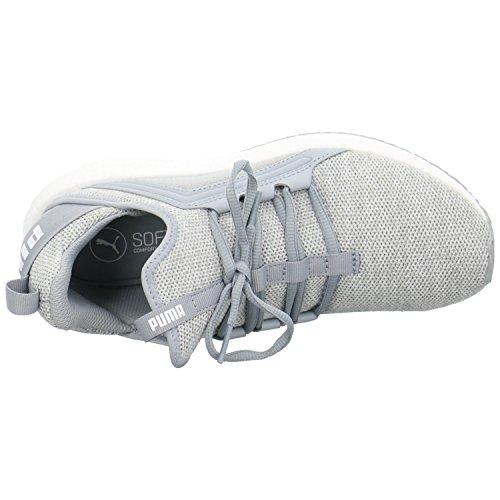 Puma Mega Nrgy Knit, Scarpe Sportive Outdoor Donna Grigio (Quarry-white)