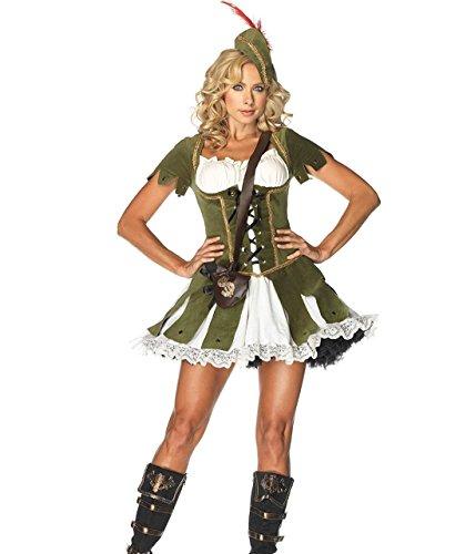 Hood Gr. S-XL (Robin Kostüme Für Damen)